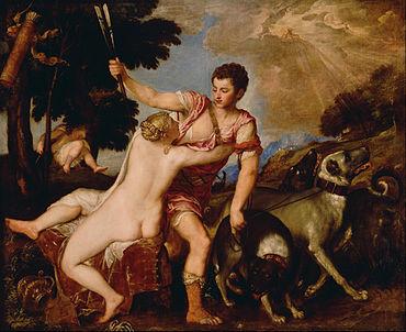 Afrodit ile Venüs-çoban Anahis