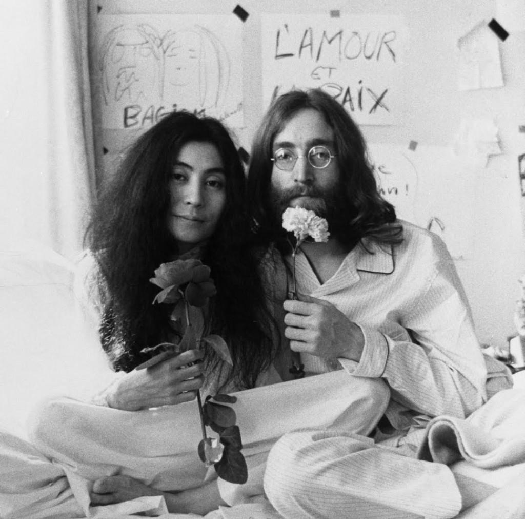 Beatles John Lennon ile Yoko Ono