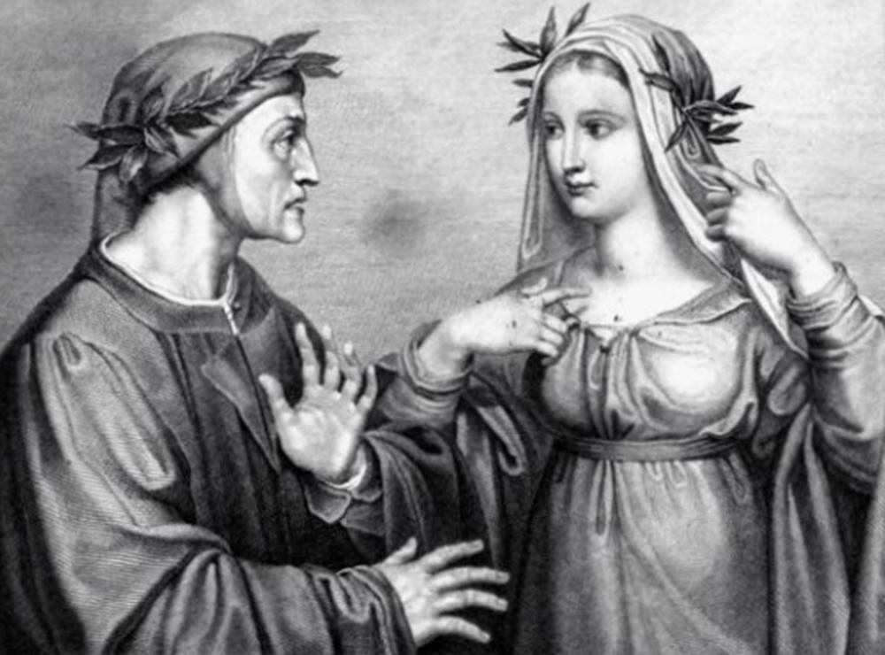 Dante Alighieri ile Beatrice