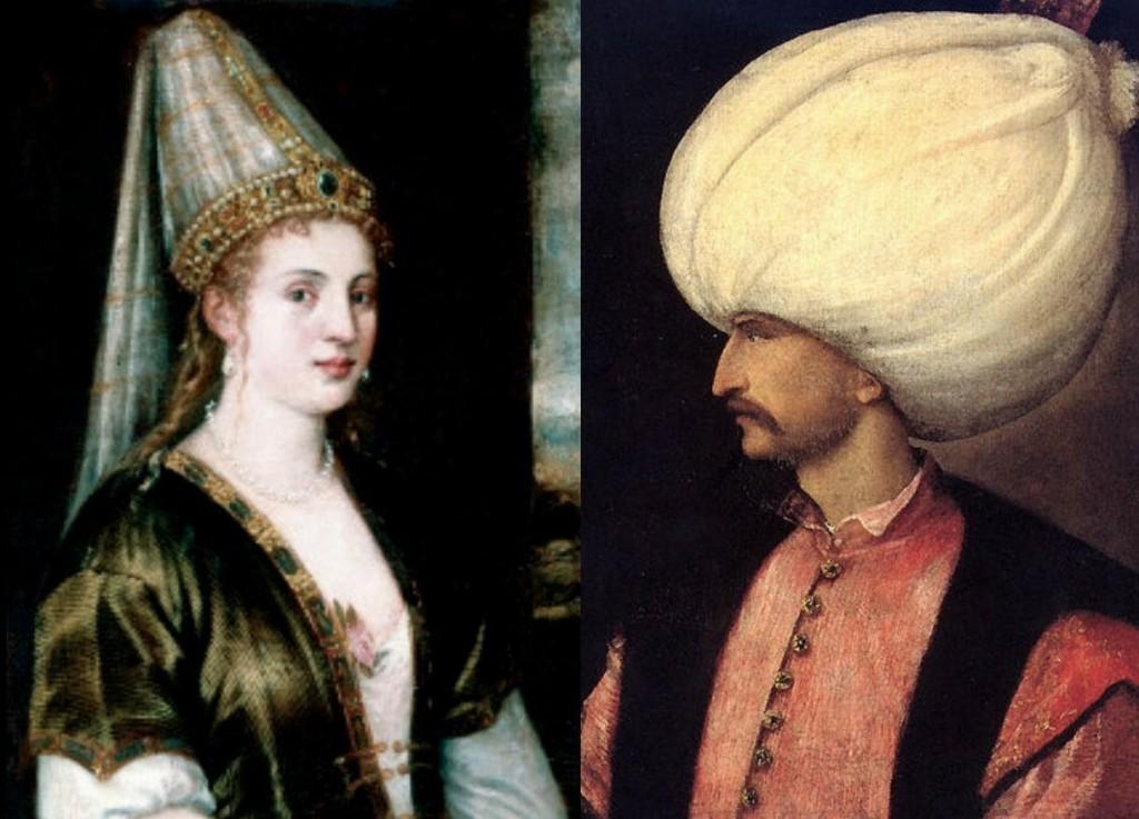Kanuni Sultan Süleyman ile Hürrem Sultan