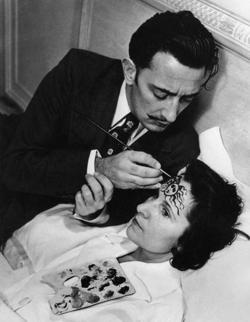 Salvador Dali ile Gala